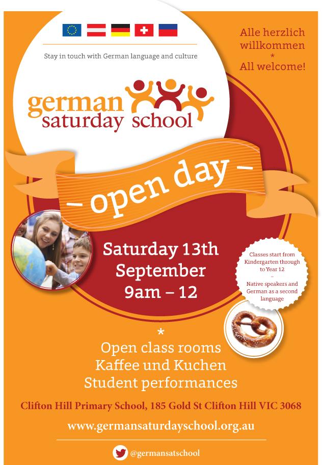 2014 Open Day Invitation